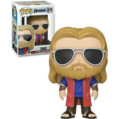 Funko Pop! Marvel: Avengers Endgame - Casual Thor w/Pop Protector