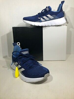 Adidas Asweego F35444 Mens Size 7 Dark Blue Athletic Running Shoes F11-287