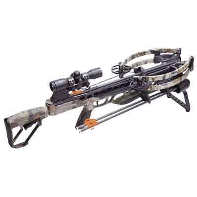 NEW CenterPoint CP 400 Crossbow Package RAVIN R LIMBS Camo Hunting KIT 400fps!!