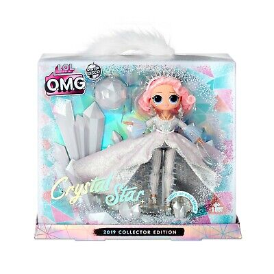 LOL Surprise OMG CRYSTAL STAR 2019 Collector Doll Winter Disco Glitter Preorder