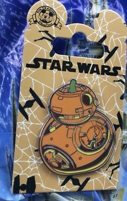 Disney Star Wars BB-8 BB8 Pumpkin Pin Halloween 2018 Open Edition Disney Pin