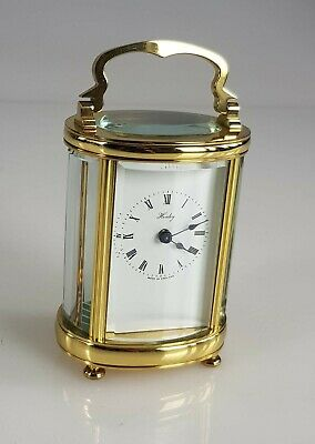 Miniature Oval Henley Carriage clock