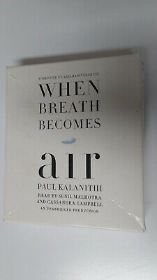 WHEN BREATH BECOMES AIR BY PAUL KALNITHI CD Unabridged * FREE SHIPPING