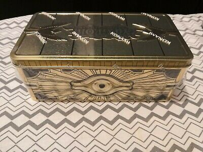 YuGiOh Gold Sarcophagus Tin 2019 - New & Sealed -Trading Card Game IN STOCK