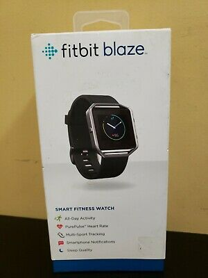 Fitbit Blaze Fitness Watch Smartwatch Activity Tracker Black LARGE
