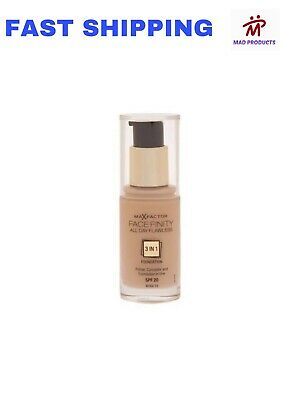 Max Factor Facefinity All Day Flawless Foundation 30Ml *All Shades Available*