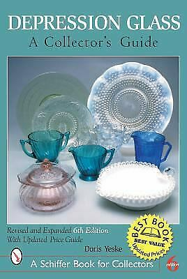 Depression Glass : A Collector's Guide  (ExLib) by Doris Yeske