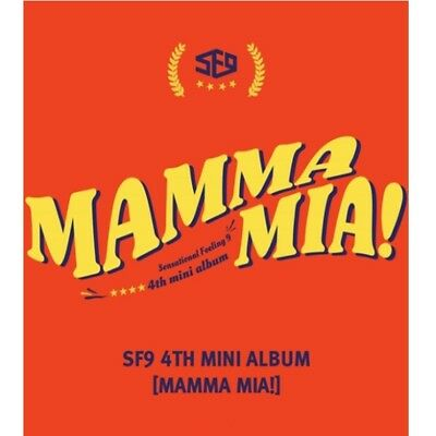 eldo SF9 - [Mamma Mia!] 4th Mini Album CD+Booklet+PhotoCard+PostCard