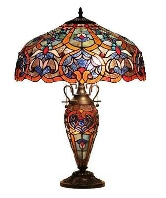 Sadie Victorian 3 Light Double Lit Table Lamp [ID 3115108]