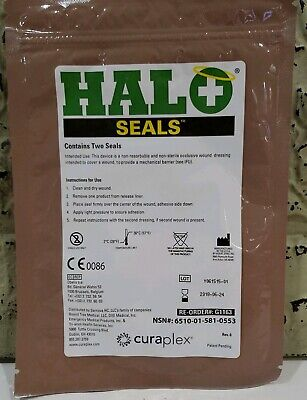 Halo Chest Seal 2 Per Pack