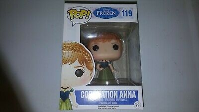 Funko Pop Coronation Anna #119 - Disney Frozen Vinyl Figure - Retired, Vaulted