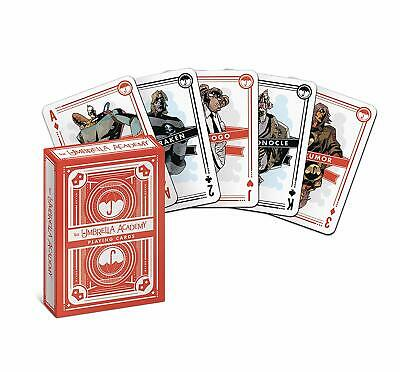 Dark Horse Deluxe The Umbrella Academy Playing Cards Deck Authentic Licensed USA