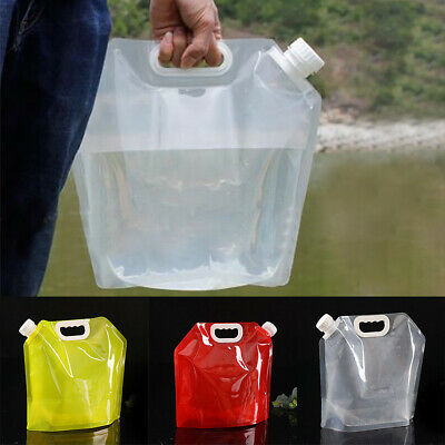 Large Capacity Outdoor Folding Water Bag Container Camping Hiking Food Grade AU