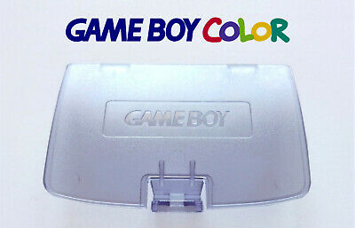 Cache Piles Game Boy Color NEUF violet transparent / Battery Cover clear purple