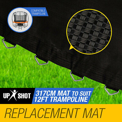 NEW Up Shot 12ft Replacement Trampoline Mat - 72 Spring Round Spare Foot Parts