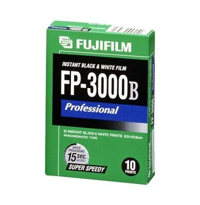 Fuji FP-3000b instant film. Exp. 2014 - refrigerated since purchase