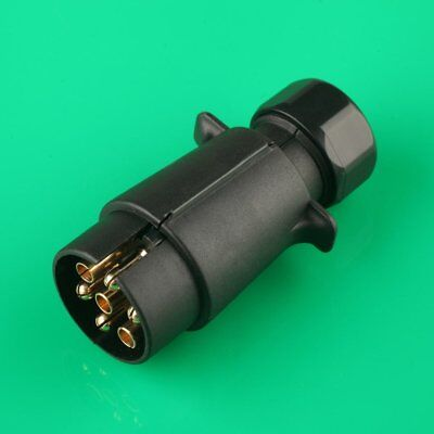 7 Pin 12V 12N  Replacement Plastic Trailer Truck Towing Electrics Plug jy