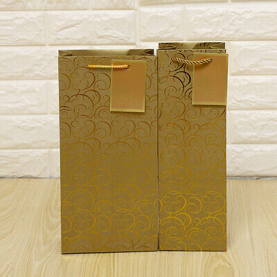 12PCS High Grade Gift Bag for Red Wine Thanksgiving House Moving Wedding