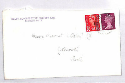BR12 1971 GB SCOTLAND LSD REGIONAL *Keith* DECIMAL MACHIN Mixed Currency Cover