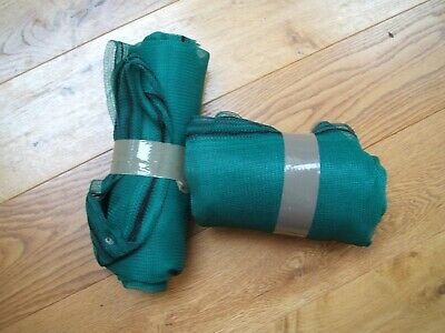 10M+ x 1M Wide Commercial Windbreak Netting - Poll-tunnel, Shade, End-of-roll