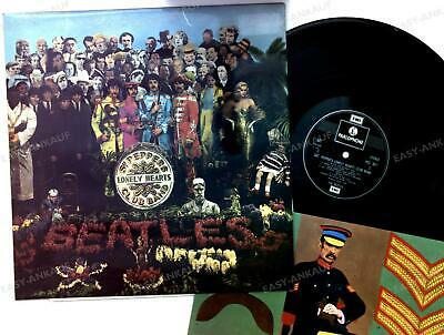 The Beatles - Sgt. Pepper's Lonely Hearts Club Band UK LP 1973 FOC + Insert .