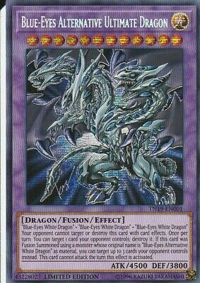 Yugioh Holo Card Blues-Eyes Alternative Ultimate Dragon Tn19-En001 Limited Ed.