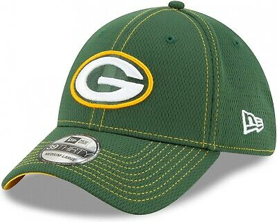 New Era 39THIRTY NFL Team Tonal Green Bay Packers Forest Green Elasticated Cap