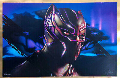 MARVEL Black Panther IMAX Fandango Promotional Movie Poster with free shipping