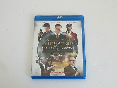 Kingsman The Secret Service & The Golden Circle Blu Ray Bluray Mint