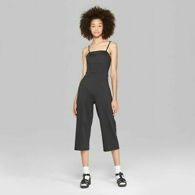 Women's Strappy Knit Jumpsuit - Wild Fable Black S