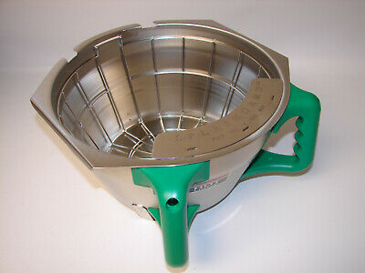 NEW BUNN 45845.0003 Funnel Assembly W/Basket Green Handle