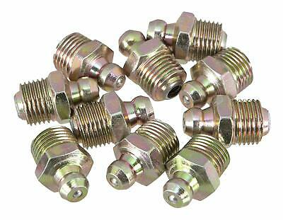 """Performance Tool W54241 1/8"""" NPT Grease Fitting, (Pack of 10)"""