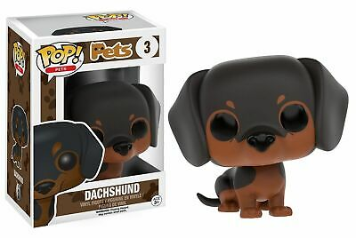 Flawed Box Funko POP Pets: Pets - Dachshund Vinyl Figure VAULTED