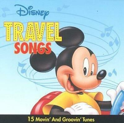 15 Movin' & Groovin' Tunes by Travel Songs Disney (Cassette)