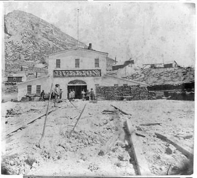 Bullion mine,Gold Hill,Storey County,Nevada,NV,1866,Lawrence & Houseworth 4155
