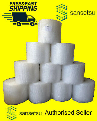 Genuine Sansetsu Large Small Bubble Packaging Wrap Film 300mm 500mm 100m 50m