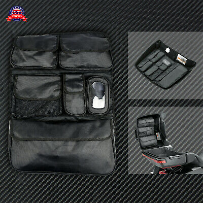 Tour Pak Pack Lid Organizer Bag Pouch Fit For Touring Ultra Classic King Chopped