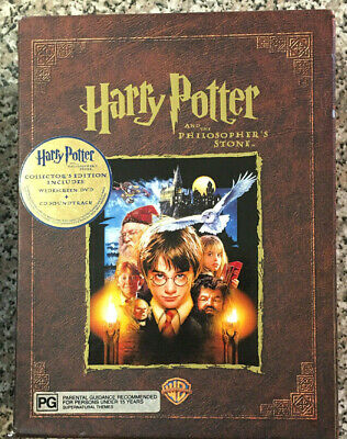 HARRY POTTER & the Philosophers Stone Collector Edition Set CD/DVD