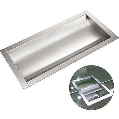 "Cash Window Drop-In Deal Tray 18""(L) x 10""(W) Business Banks 304 Stainless Steel"