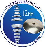 Stackable Beadcaps - 12mm