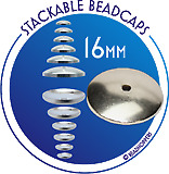 Stackable Beadcaps - 16mm
