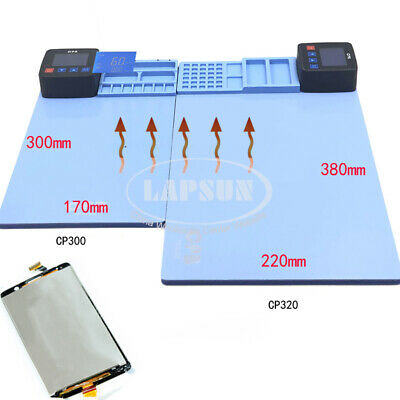 110V-240V Heating Station Separator Pad for IPAD Mobile Tablet Touch LCD Screen