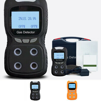 Toxic Gas LCD Detector Carbon Monoxide Detector Hydrogen Gas Tester LCD Display