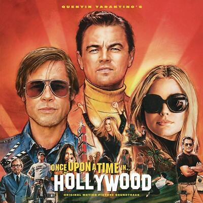 Quentin Tarantino's Once Upon A Time In Hollywood Soundtrack - NEW SEALED CD UK