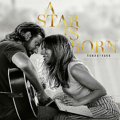 A Star is Born Soundtack By Lady Gaga and Bradley Cooper, CD, 2018, Virgin