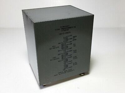 Titan HT Transformer for Tube Amplifiers--Low DCR secondary!