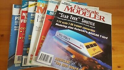 LOT (99) ISSUES FINE SCALE MODELER Magazine 1982 to 1996