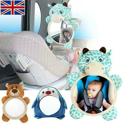 1X Baby Mirror Car Back Seat Cover for Infant Child Rear Ward Safety View Toy EL
