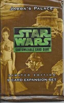 Star Wars CCG Jabba's Palace Limited Edition 9-card Expansion Set
