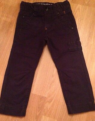 SEVENONESEVEN Boys Designer Trousers 717 Navy Jeans Combats Chinos Holidays 24 2